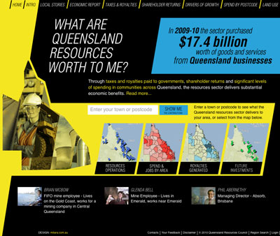 Queensland Economy Home Page